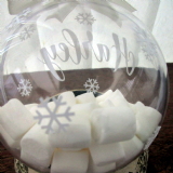 Marshmallow Treats Personalised Tree Bauble